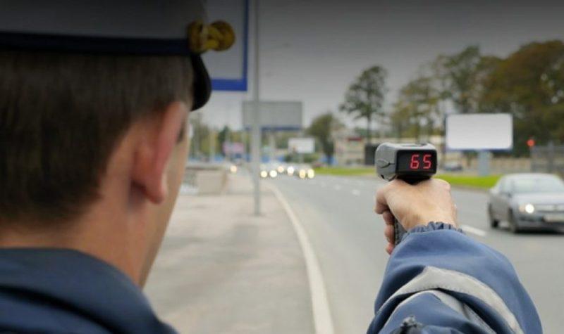 контроль за скоростью машин