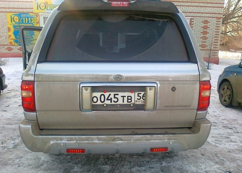 установка номера на авто по ГОСТУ