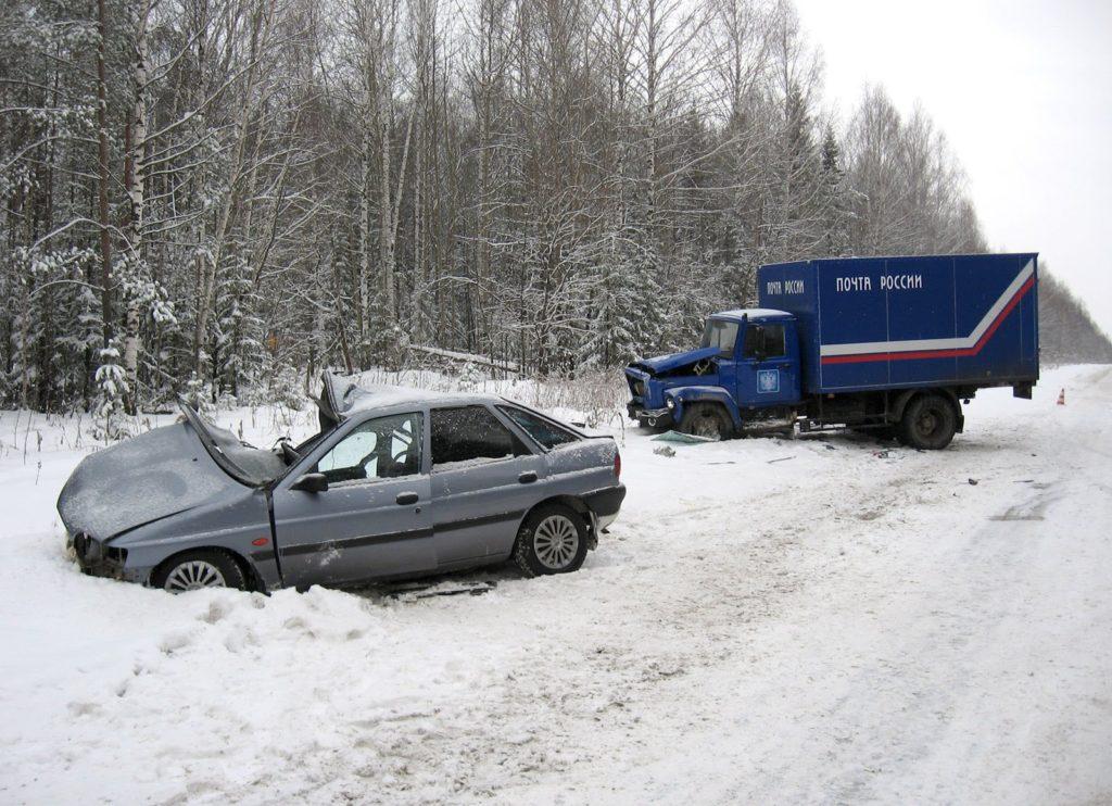 дтп зимой на трассе