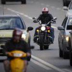 штраф за езду на мотоцикле