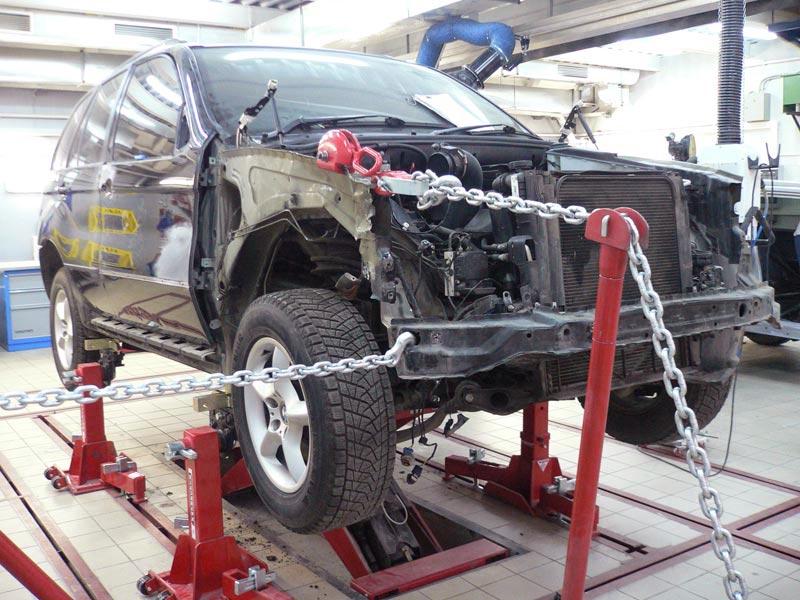 ремонт машины по страховке ОСАГО