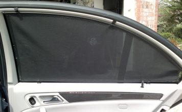 варианты штор для автомобиля