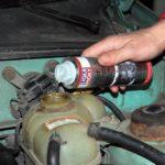 Как промыть систему охлаждения двигателя