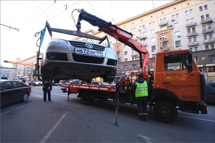 Служба эвакуации автомобилей от ГИБДД
