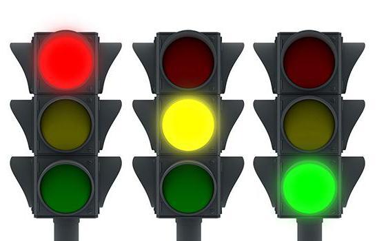 ПДД сигналы светофора