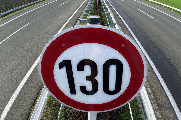 Разрешенная скорость на трассе