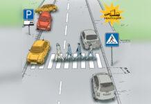 Сколько метров до пешеходного перехода разрешена парковка